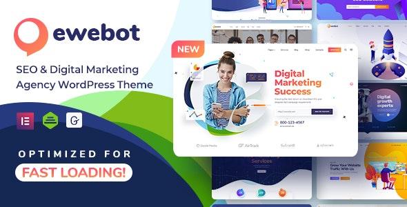 [nulled] Ewebot v2.3.1 - SEO Digital Marketing Agency WordPress