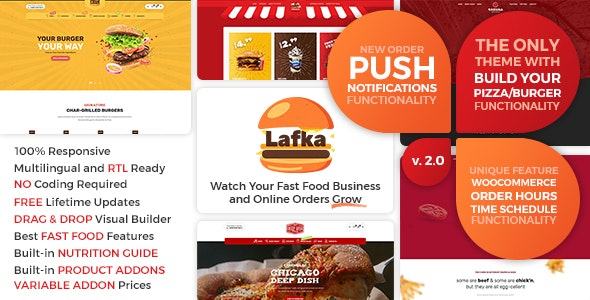[nulled] Lafka v2.4.1 - WooCommerce Theme for Burger Pizza Fast Food Delivery & Restaurant WordPress