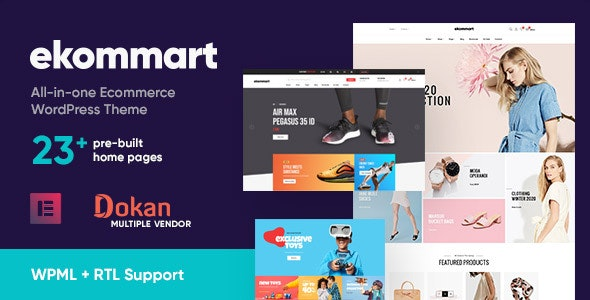 [nulled] Ekommart v3.5.0 - All-in-one eCommerce WordPress Theme