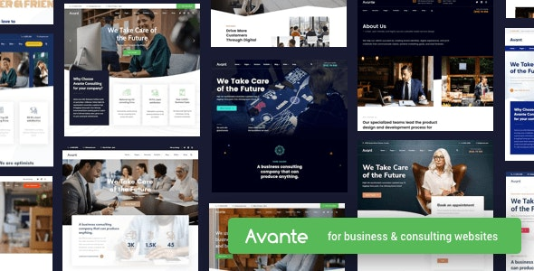[nulled] Avante v2.3.1 - Business Consulting WordPress