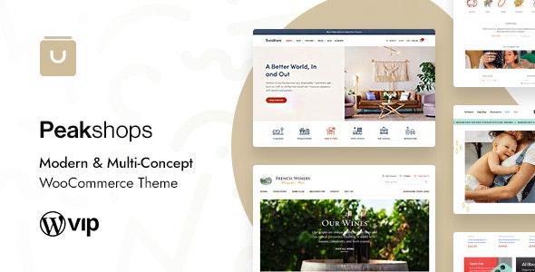 [nulled] PeakShops v1.4.6 - Modern & Multi-Concept WooCommerce Theme
