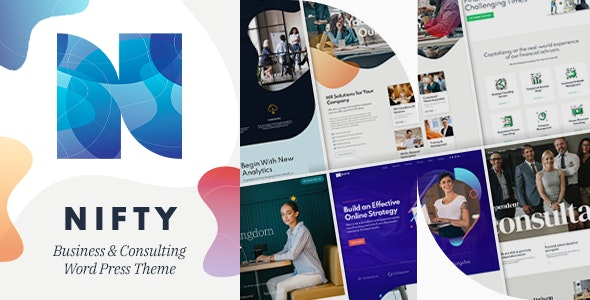 [nulled] Nifty v1.0.6 - Business Consulting WordPress Theme