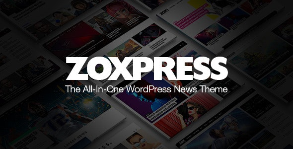 [nulled] ZoxPress v2.03.0 - All-In-One WordPress News Theme