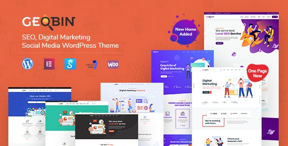 [nulled] GeoBin v2.7.1 - Digital Marketing Agency, SEO WordPress Theme