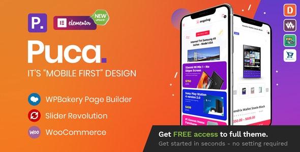 [nulled] Puca v2.2.11 - Optimized Mobile WooCommerce Theme