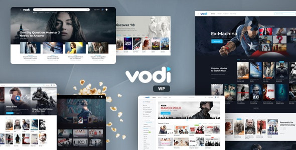 [nulled] Vodi v1.2.5 - Video WordPress Theme for Movies & TV Shows