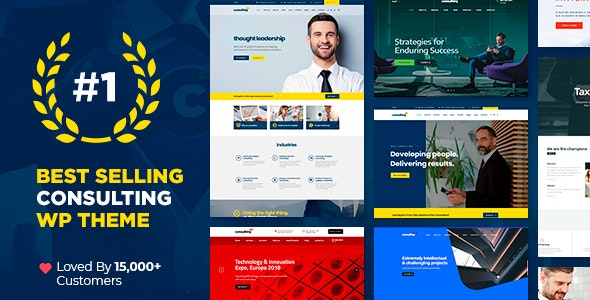 [nulled] Consulting v6.1.1 - Business Finance WordPress Theme