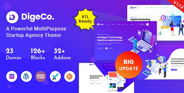 [nulled] Digeco v1.7.2 � Startup Agency WordPress Theme