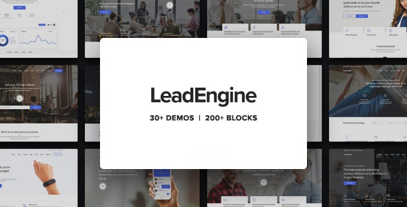 [nulled] LeadEngine v2.9 - Multi-Purpose Theme with Page Builder