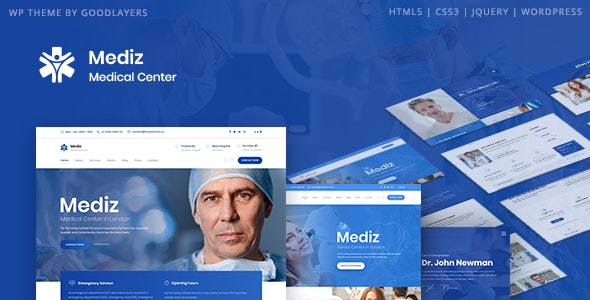 [nulled] Mediz v2.0.3 - Medical WordPress Theme