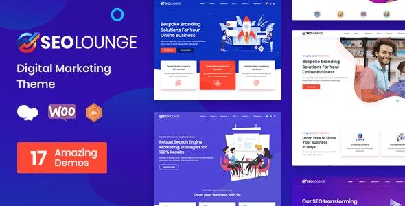 [nulled] SEOLounge v3.0.2 - SEO Agency WordPress Theme