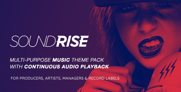 [nulled] SoundRise v1.5.7 - Artists, Producers and Record Labels Theme