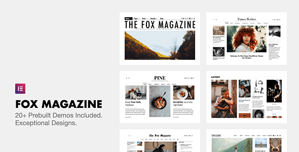 [nulled] The Fox v4.6.7.1 - Minimal WordPress Blog Magazine Theme