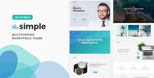 [nulled] The Simple v2.6.1 - Business WordPress Theme