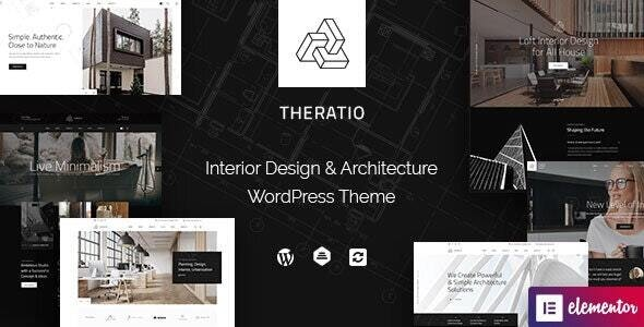 [nulled] Theratio v1.1.4.3 - Architecture & Interior Design Elementor WordPress Theme